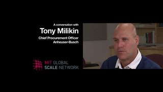 A Conversation with Tony Milikin, Chief Procurement Officer at Anheuser-Busch