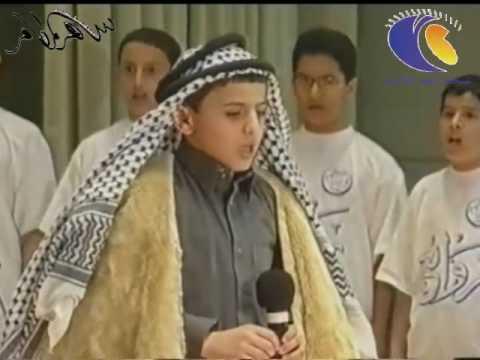 عبدالمجيد الفوزان وهو صغير- الله يحفظه