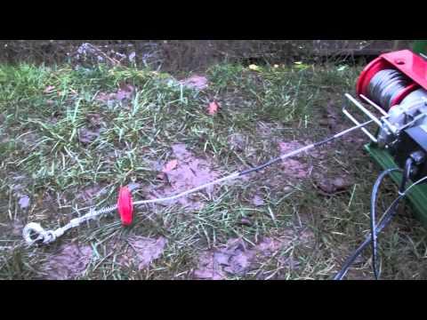 Elektroseilwinde (Seilzug für den mini Schlepper 1,6t )