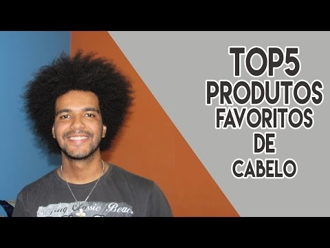 TOP 5 PRODUTOS FAVORITOS DE CABELO