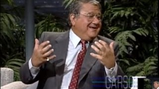 Buddy Hackett Tries To Keep His Jokes Clean On Johnny Carsons Tonight Show
