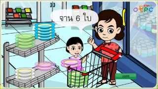 สื่อการเรียนการสอน การบวก - สื่อการเรียนการสอน คณิตศาสตร์ ป.1 ป.1 คณิตศาสตร์
