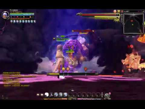 Dragon Nest Blade Dancer Solo Labyrinth floor 25 Volcano