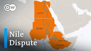 Egypt, Sudan and Ethiopia feud over Nile dam project | DW News