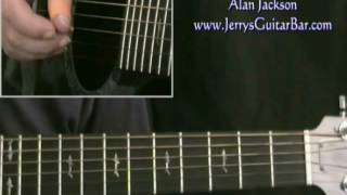 How To Play Alan Jackson Midnight in Montgomery (intro only)