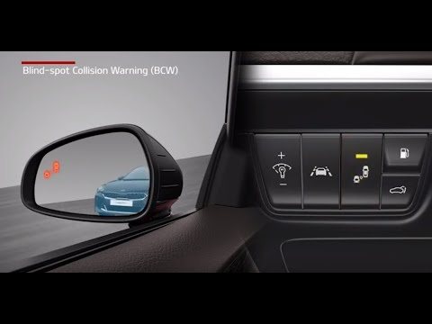 Kia Blind-Spot Collision Warning (BCW) &  Blind-Spot Collision-Avoidance Assist-Rear (BCA-R)