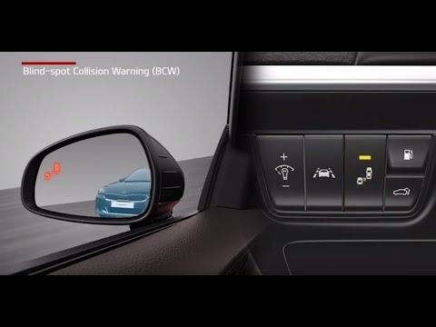 Kia Blind-Spot Collision Warning (BCW) &  Blind-Spot Collision-Avoidance Assist-Rear (BCA-R)