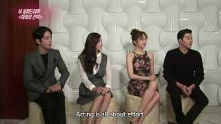 [ENG][131025] Marry Him if You Dare (미래의 선택) Cast Interview