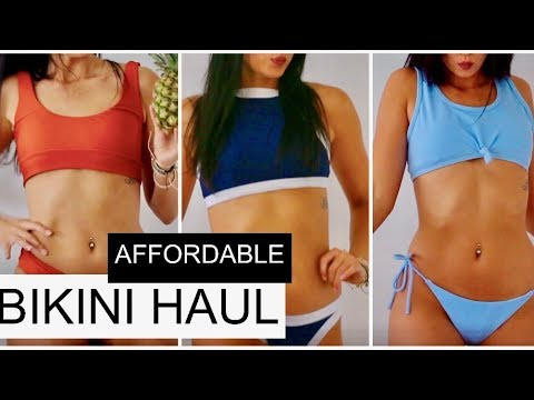 Affordable Bikini Try On Haul | ROSEGAL REVIEW
