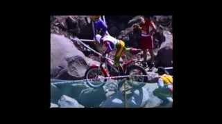 preview picture of video 'Bienno 15/06/1997.  Gara campionato mondiale trial.'
