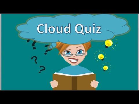 Cloud Quiz - Learn Cloud Computing Online