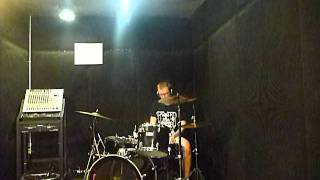 Dredg - Hungover on a tuesday drum cover