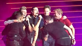 Backstreet Boys - Shape of My Heart with Donnie & Marie Osmond - Las Vegas 6.23.17