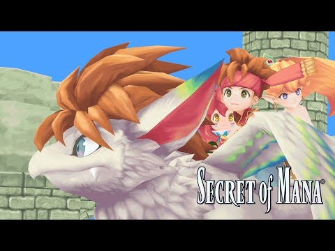 Secret of Mana – Announcement Trailer thumbnail