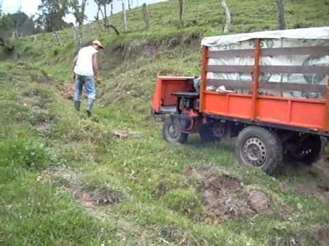 """Tecnología Agrícola """"AGRO-CAR"""" carro rural vehículo de carga motoazada motocultor"""