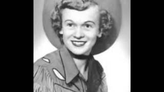 Early Jean Shepard - **TRIBUTE** - The Glass That Stands Beside You (1953).