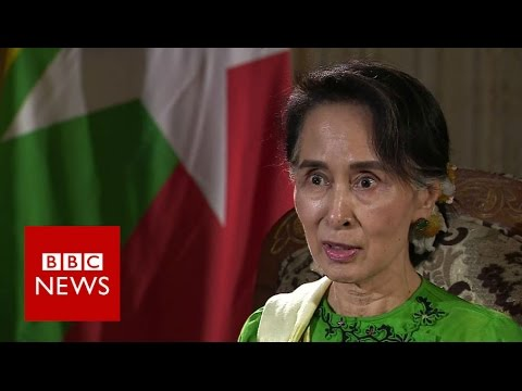 Myanmar: Aung San Suu Kyi exclusive interview – BBC News