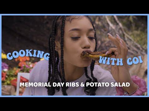 Cooking With Coi Leray – Memorial Day Ribs & Potato Salad