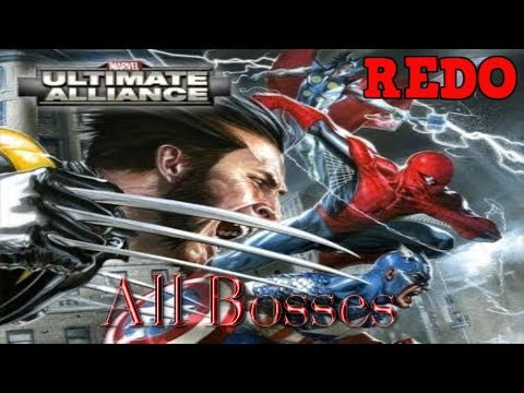 Download Marvel Ultimate Alliance 1 And 2 All Boss Battles
