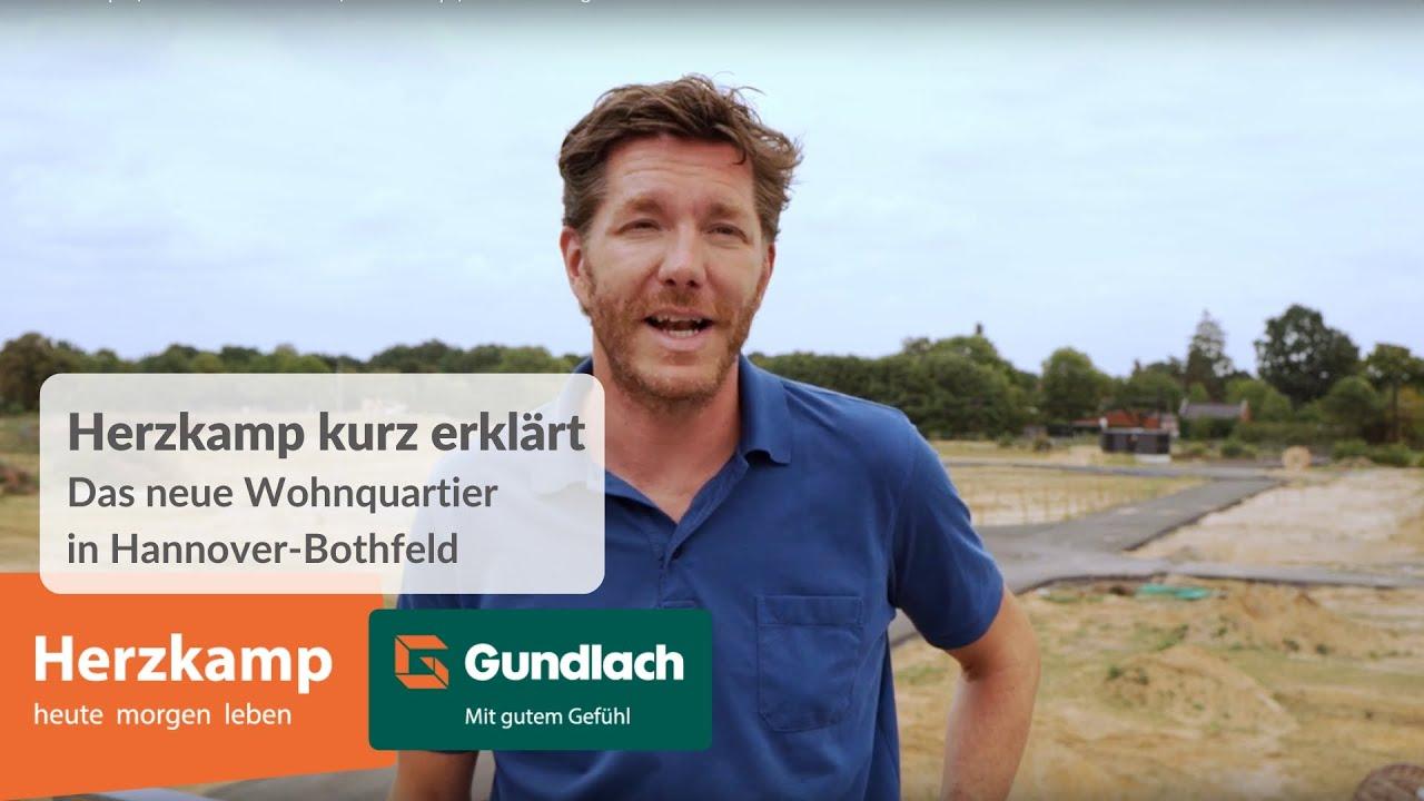 Mietwohnungen in Hannover. Lorenz Hansen stellt das Wohnquartier Herzkamp vor.