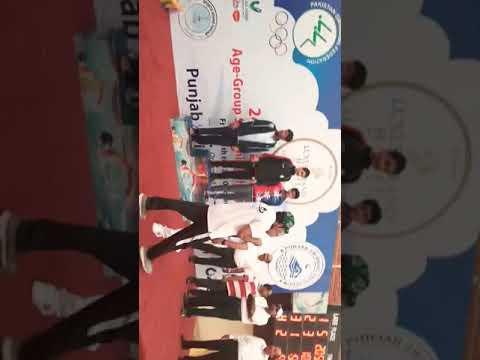 Ahmed Durrani (24th Pakistan National Junior Swimming Championship 2019.)
