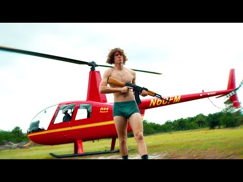 Landing A Helicopter In My Backyard! download YouTube video in MP3