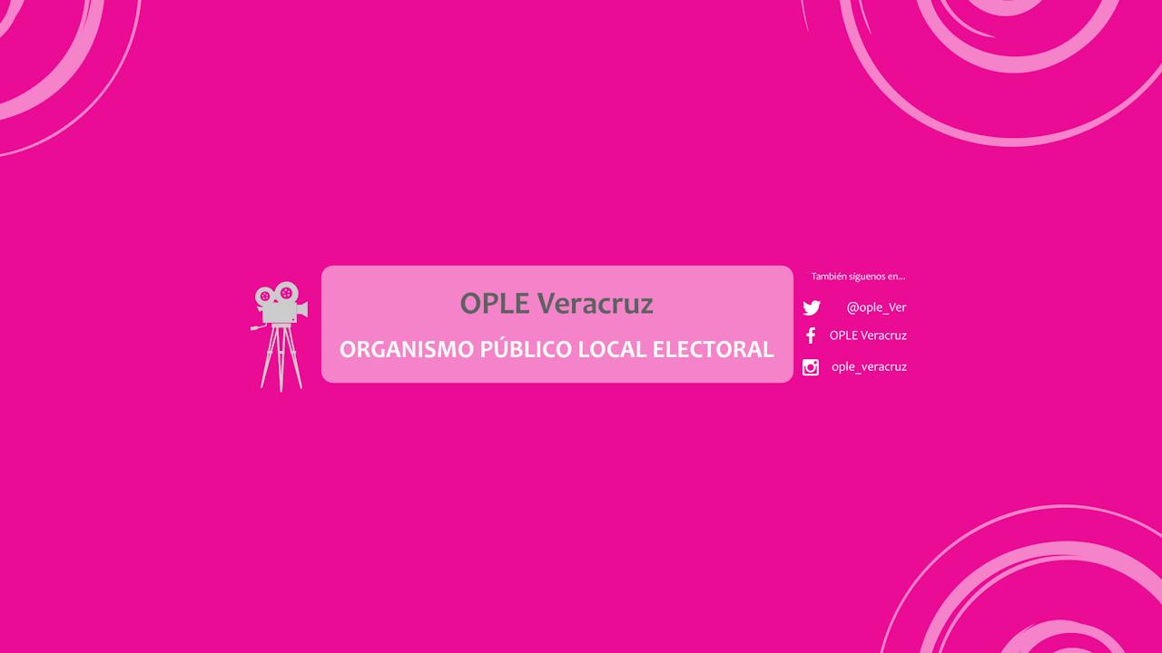 Sesión Extraordinaria del Consejo General del OPLEV 29 de Agosto
