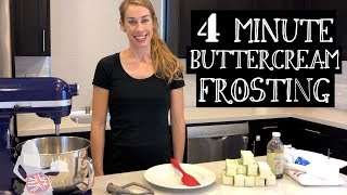 4 Minute Buttercream Frosting