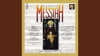 Messiah, Hwv 56 - Part I: Accompanied Recitative: Thus Saith The Lord (bass)