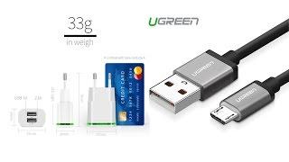 Качественный кабель USB UGREEN с aliexpress / Блок питания из Китая / MP3 mini