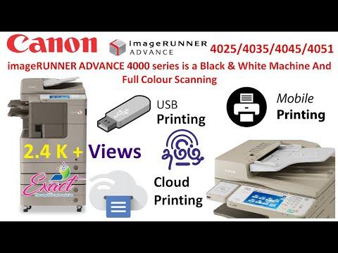 IR Adv 4035 Canon Digital Photocopier Machine