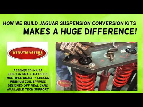 2004-2010 Jaguar XJ8 Rear Air Suspension Conversion Kit Build