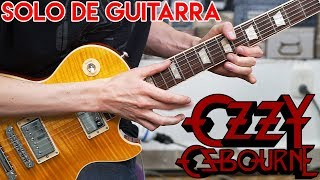 Gets Me Through Guitar Solo Cover | Ozzy Osbourne | Solo De Guitarra Electrica