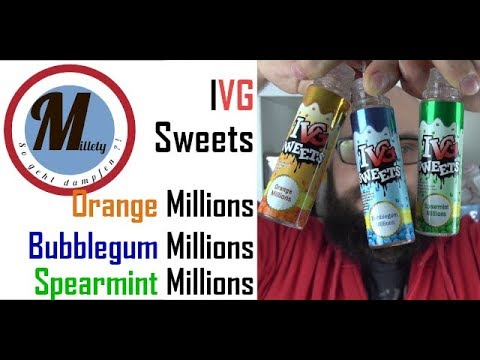 YouTube Video zu I VG Sweets Spearmint Millions Shortfill Liquid 50 ml für 60 ml