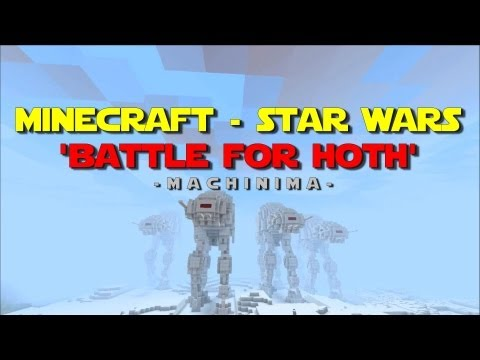 The Battle Of Hoth Recreated In Minecraft, As An Incredible Animated Short
