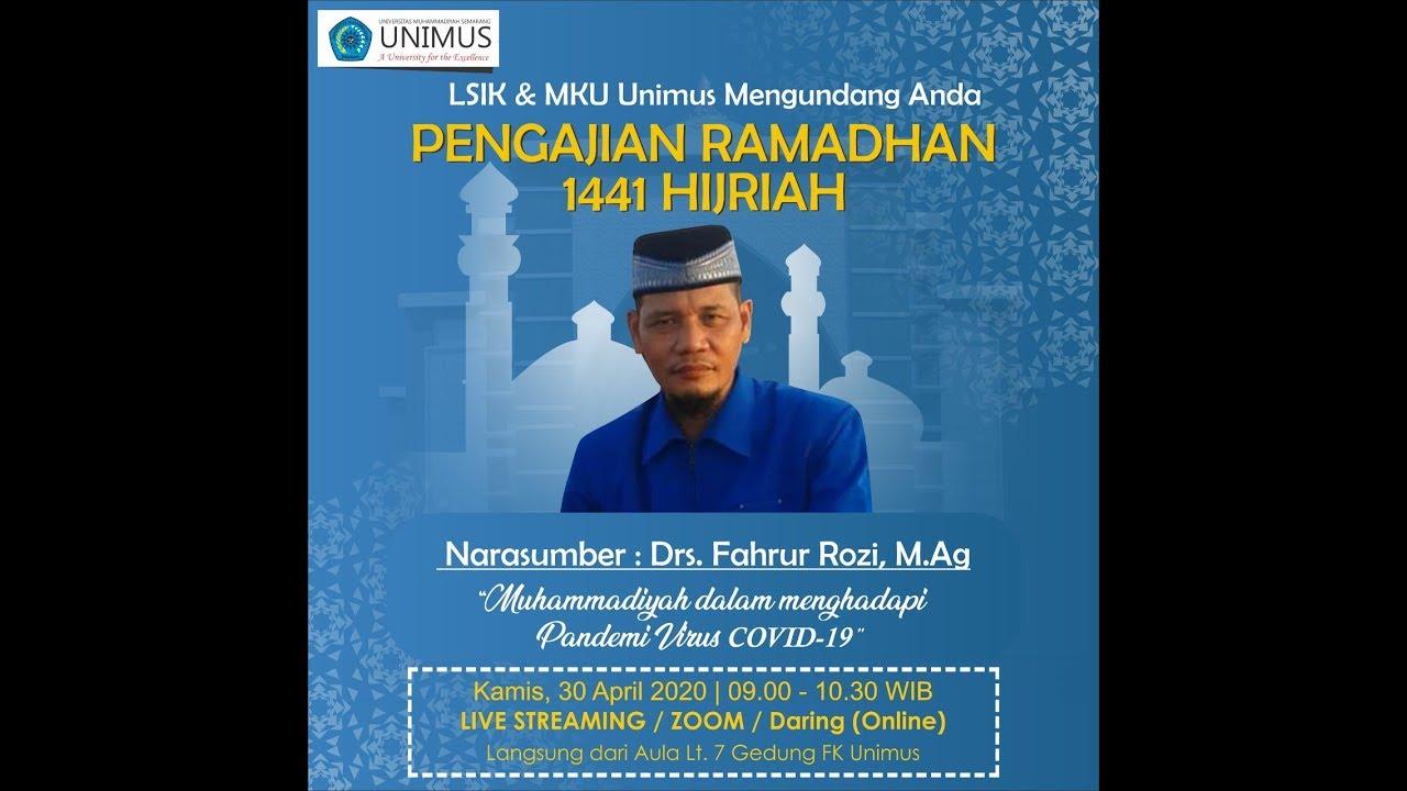 Muhammadiyah Dalam Menghadapi Pandemi Virus COVID-19