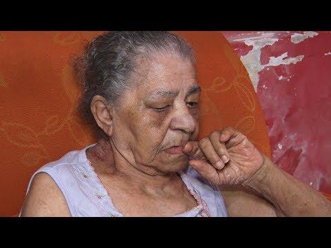 Crise em Cachoeiras: aposentada tem dificuldade para comprar comida e remédio