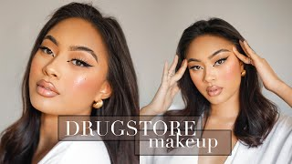 GLAM ON A BUDGET *flawless AF* ✨ The Best Of DRUGSTORE MAKEUP