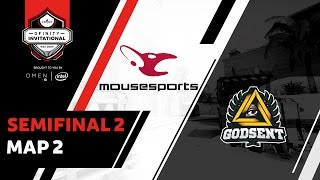 Godsent v Mousesports - Semi-Finals Map 2 [Mirage]