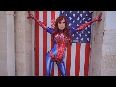 Spider Girl vs Spiderman | Screen Team (видео)