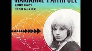 Marianne Faithfull...The sha la la song