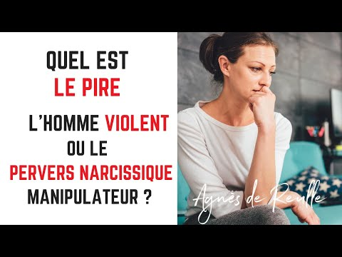 Différence entre un homme violent et un pervers narcissique