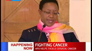 Government Launches cervical cancer vaccine that targets over 800,000 girls above 10 years|.