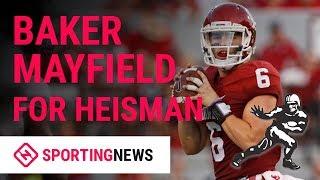 Vote Oklahoma QB Baker Mayfield For 2018 Heisman
