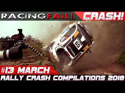 Rally Crash Compilation Week 13 March 2018 | RACINGFAIL