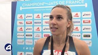 Laura Valette : « Une belle émulation sur 100 m haies »