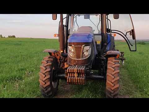 Полевые работы. Дисковка БДТ  на тракторе LOVOL 904.
