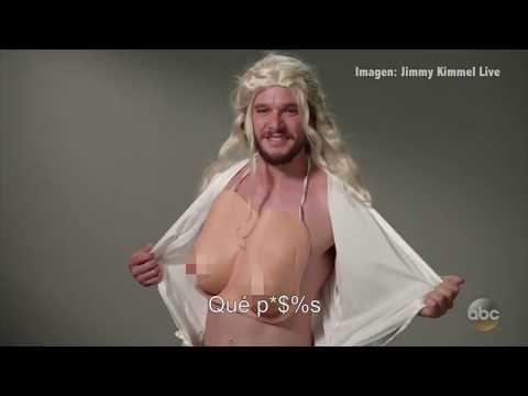 Así se ve Jon Snow imitando a otros personajes de 'Game of Thrones'