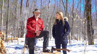 Podstawowy ogień Począwszy od Shawna i Emily | Bushcraft i przetrwanie