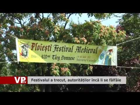 Festivalul a trecut, autorităților încă li se fâlfâie